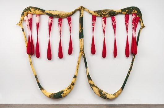 Sterling Ruby, Double Vampire 3, 2011, Photography by Robert Wedemeyer.