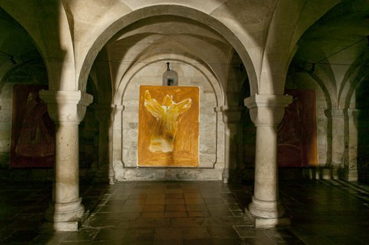 White Within in the Lund Cathedral, 2005. Photo: Carl Henrik Tillberg